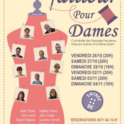 2018 - Tailleur pour Dames